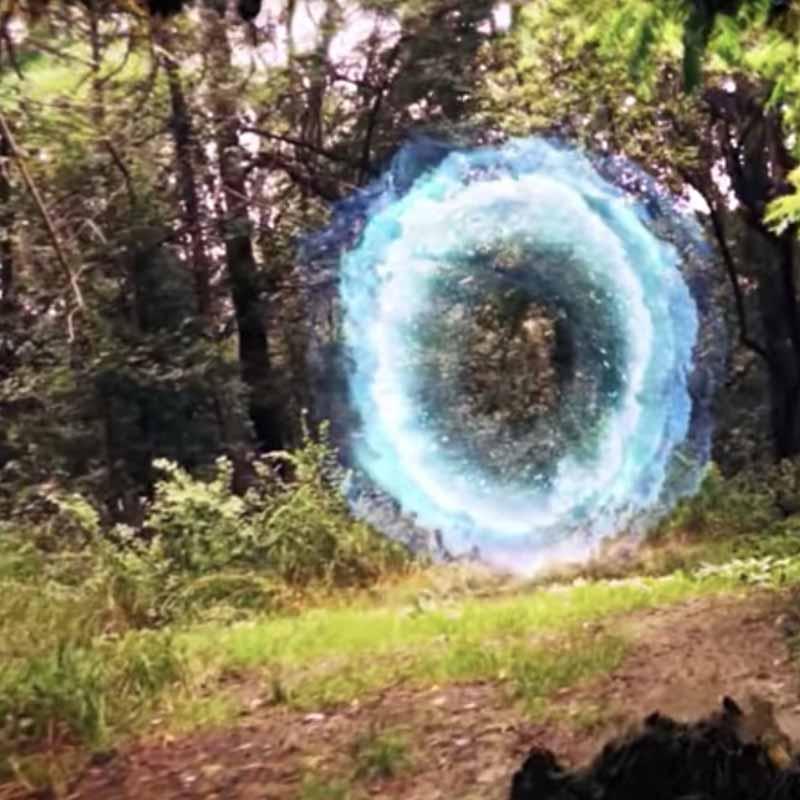Treasure hunt in aer liber intr-un program de teambuilding Portalul magic